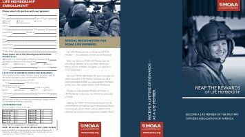 LIFE Member Brochure (PDF) - Military Officers Association of America
