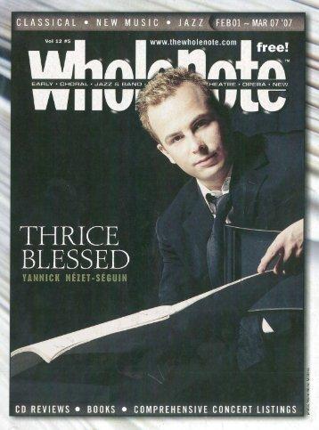Volume 12 - Issue 5 - February 2007