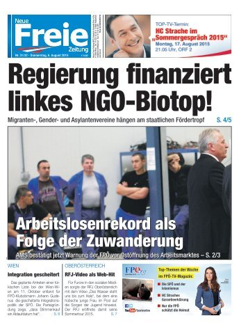 Regierung finanziert linkes NGO-Biotop!