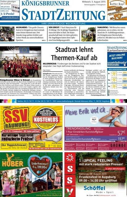 Stadtzeitung Königsbrunn 05.08.2015