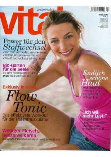 FlowTonic® Workout in Text & Bild