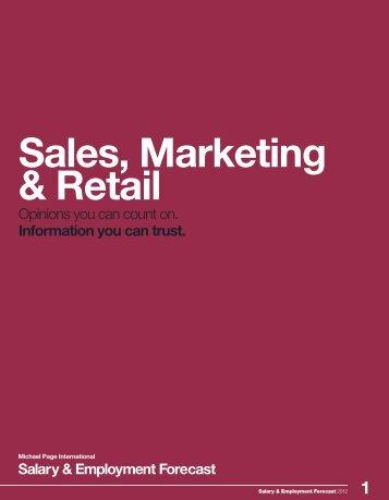 3 Sales, Marketing & Retail - Michael Page Hong Kong