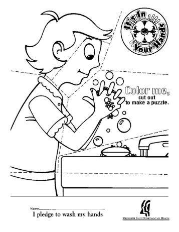 Handwashing Teaching Tool