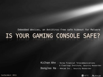 IS YOUR GAMING CONSOLE SAFE?