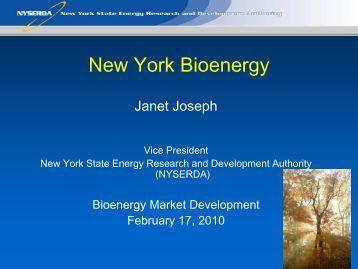 New York Bioenergy