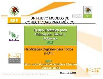 UN NUEVO MODELO DE CONECTIVIDAD PARA MÉXICO