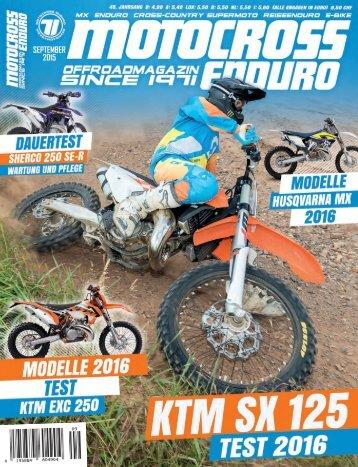 Motocross Enduro - 09/2015
