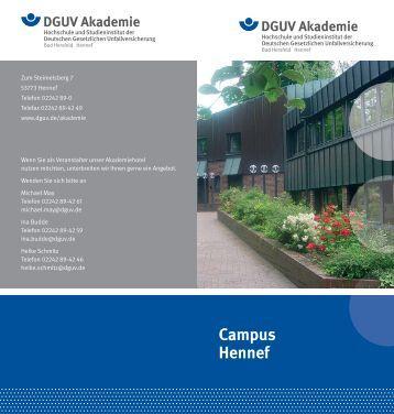 Ihr Weg zu uns DGUV Akademie Hennef - Deutsche Gesetzliche ...