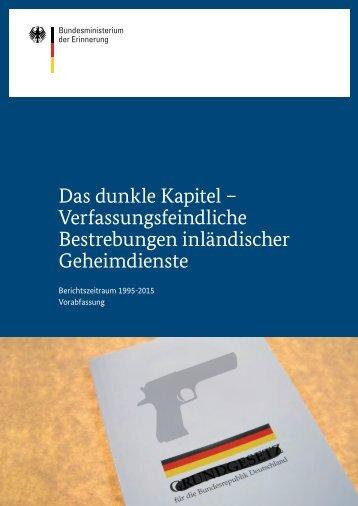 Verfassungsschutzbericht 2013