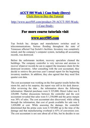 ACCT    Case Study   Cash Budget Pinterest