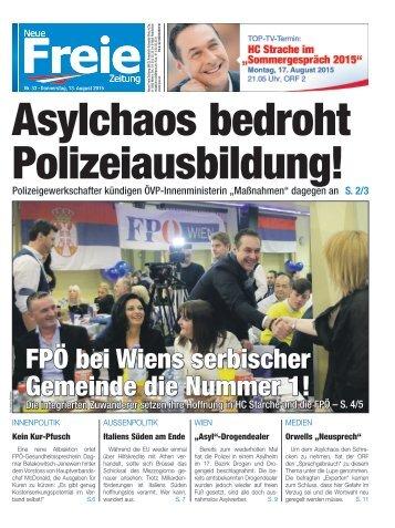 Asylchaos bedroht Polizeiausbildung