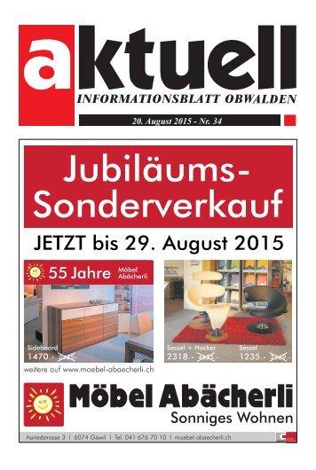 Aktuell Obwalden 34-2015