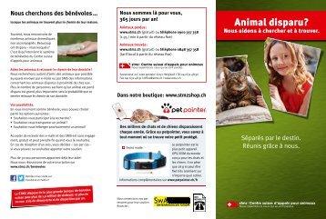 STMZ | Centre suisse d'appels pour animaux