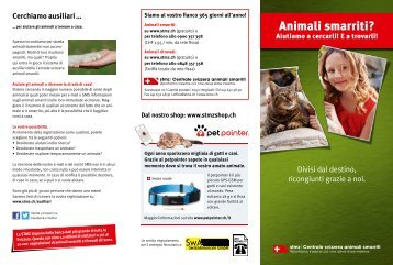 STMZ | Centrale svizzera animali smarriti