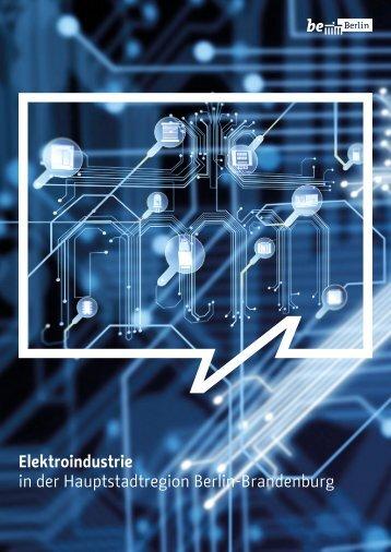 Elektroindustrie in der Hauptstadtregion Berlin-Brandenburg