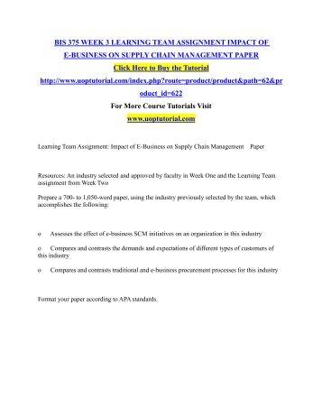 e-business assignment