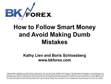 Smart money trading forex