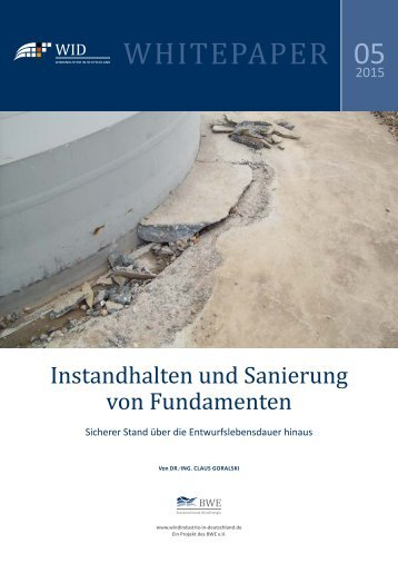 WID-WHITEPAPER Instandhalten und Sanierung von Fundamenten