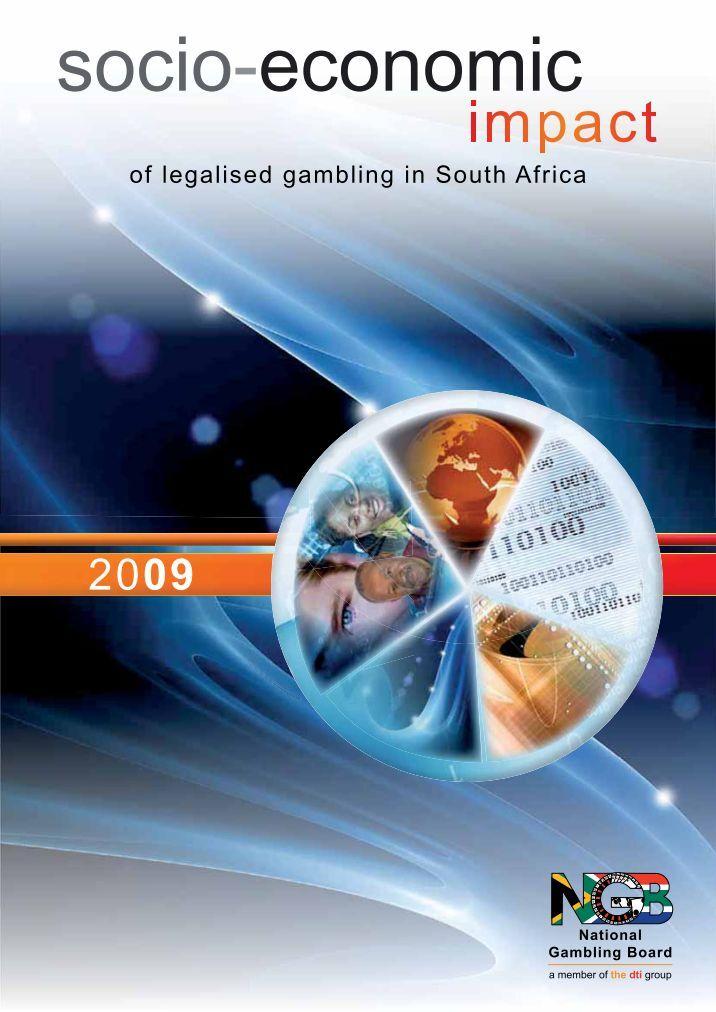 Gambling impact on economy four signs of gambling problem