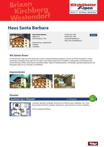 Haus Santa Barbara - Brixental