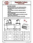 VEGETABLE CUTTERS - Page 4