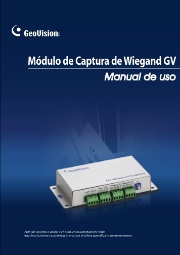 Módulo de Captura de Wiegand GV