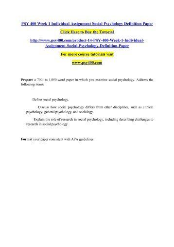 clinical psychologist research paper
