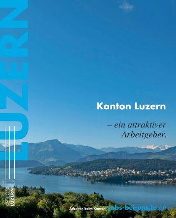 Kanton Luzern – ein attraktiver Arbeitgeber