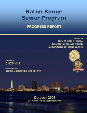 Baton Rouge Sewer Program
