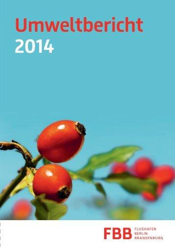 Umweltbericht 2014