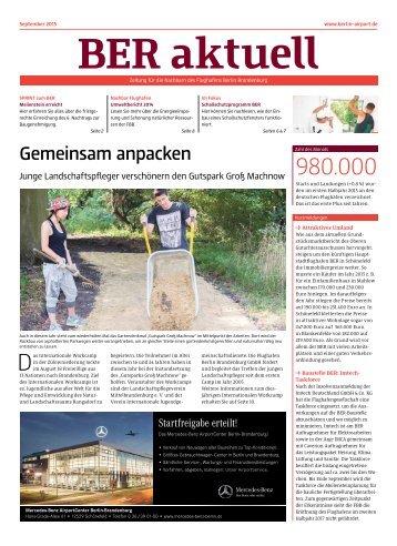 BER aktuell 09/2015