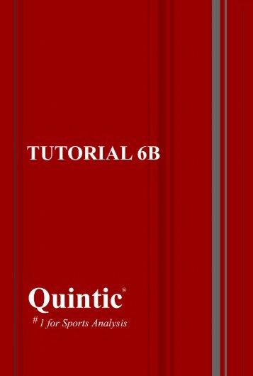 Tutorial 6b – Automatic Digitisation Biomechanics v14 only