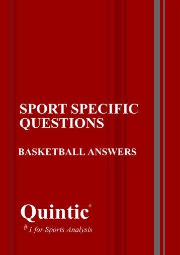 Basketball Answers