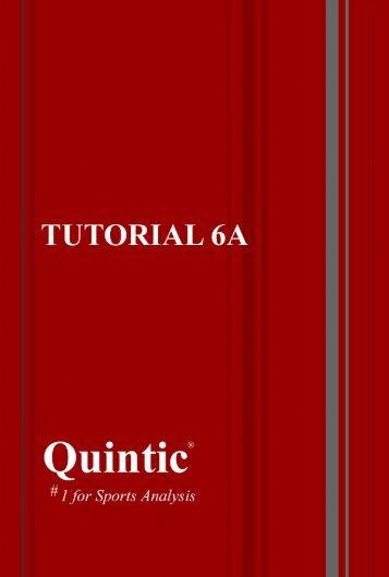 Tutorial 6a – Manual Digitisation