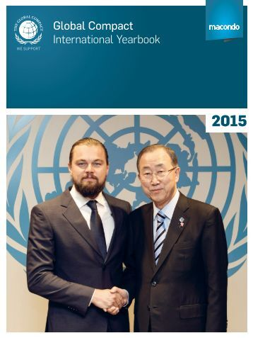 Global Compact International Yearbook 2015