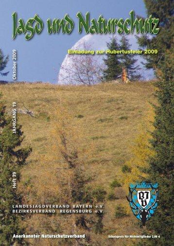 Einladung zur Hubertusfeier 2009 - Bezirksjagdverband ...