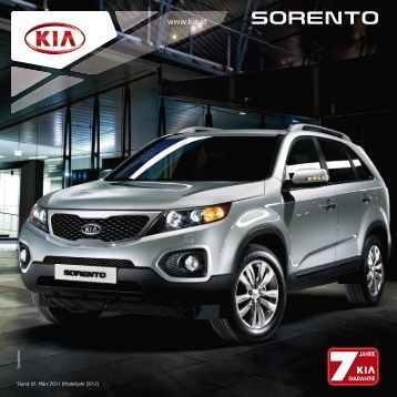 kia sorento 2 2 crdi spirit 4wd dpf. Black Bedroom Furniture Sets. Home Design Ideas