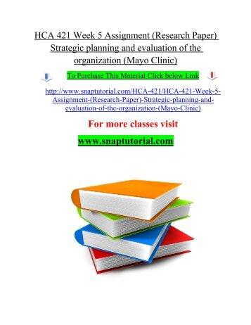 Term paper on strategic management