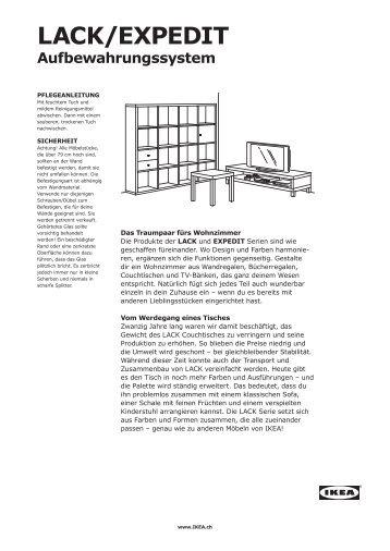 LACK/EXPEDIT Aufbewahrungssystem - Ikea