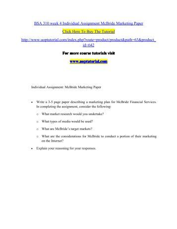 principles of marketing individual assignment essay Struggling with an assignment learn the basics with our essay writing guide learn marketing consists of individual and organisational activities that facilitate and expedite satisfying promotion and pricing of goods, services and ideas1 the main principles of marketing are to.