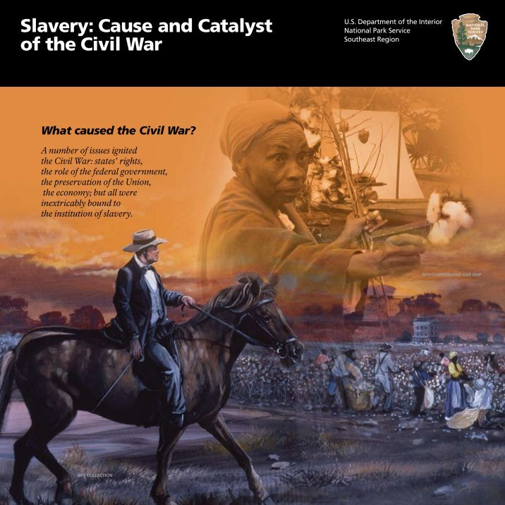 was slavery the cause of the civil war essay To say that slavery was the sole cause of the civil war overlooks stark differences that divided the nation in the lead-up to the civil war.