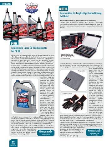 Produkte / MCE 10 / 2015
