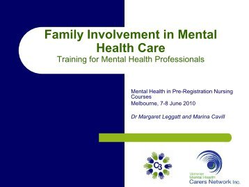 mental health carers