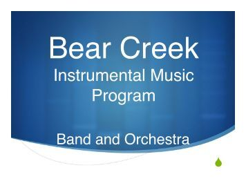 Bear Creek