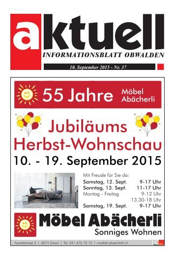 Aktuell Obwalden 37-2015