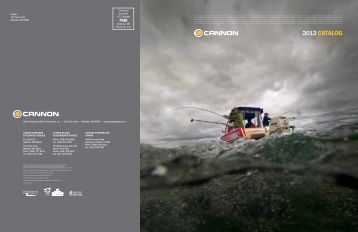 2012 catalog - Cannon Downriggers
