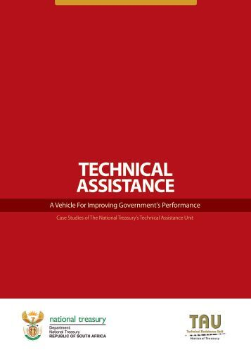 Technical Assistance - TAU - National Treasury