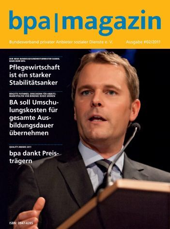 bpa|magazin - Bundesverband privater Anbieter sozialer Dienste eV