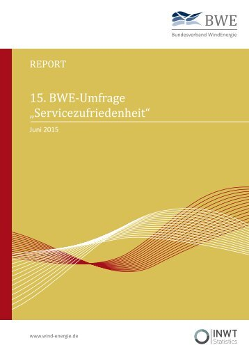 BWE Serviceumfrage 2015