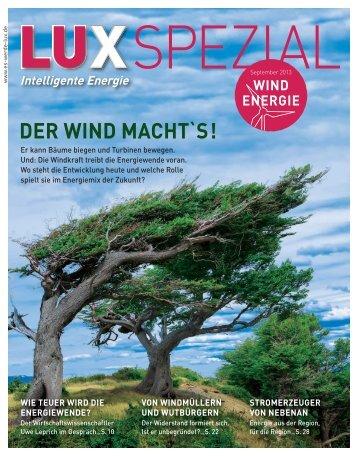 LUX Spezial Windenergie